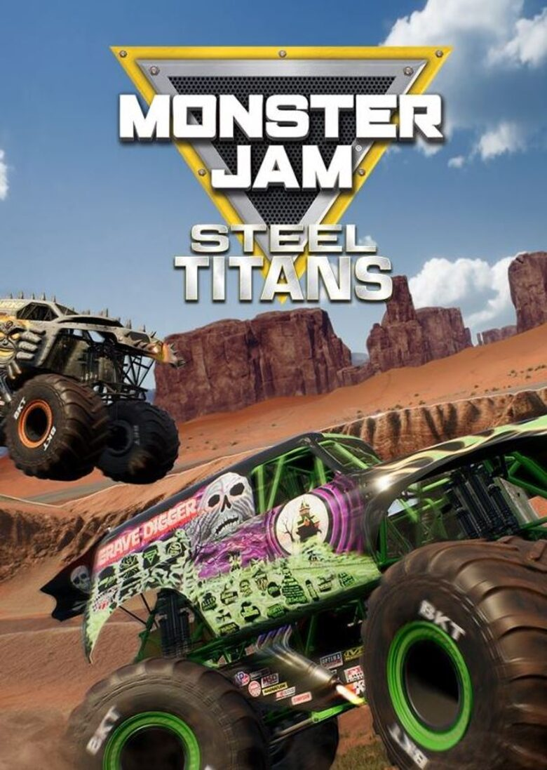 Monster Jam Steel Titans (2019) PC | Лицензия