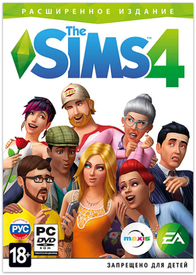 The Sims 4: Deluxe Edition  [v 1.65.70.1020 + DLC] (2014) PC | RePack от xatab